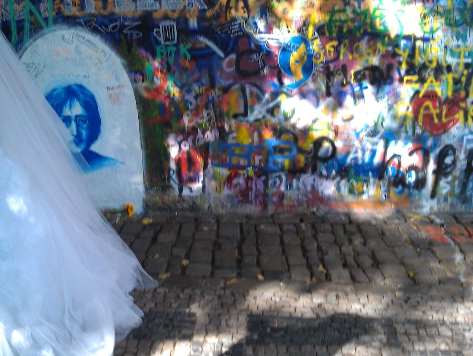 The Lennon Wall Nižbor  Czechia