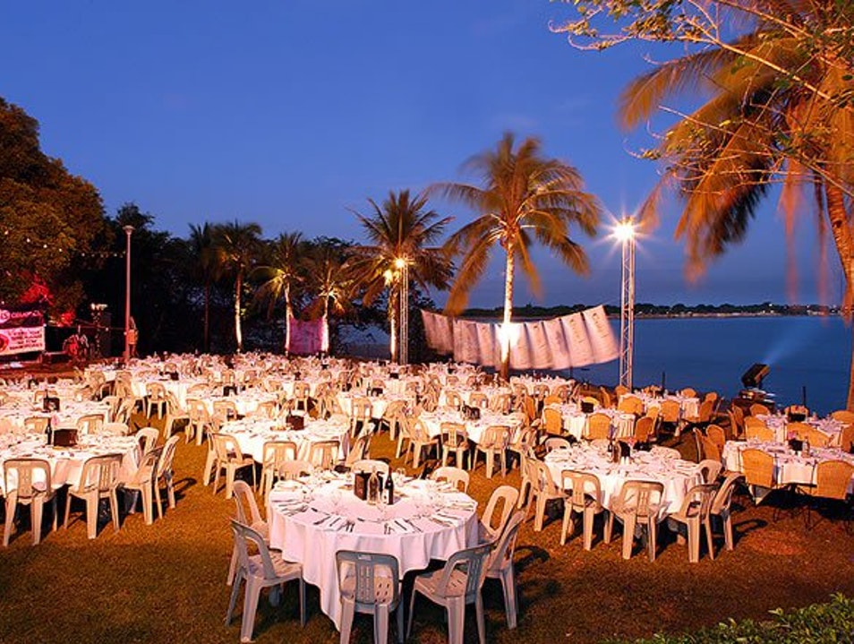 Unforgettable Seaside Dining at Pee Wee's at the Point in Darwin, Australia East Point  Australia