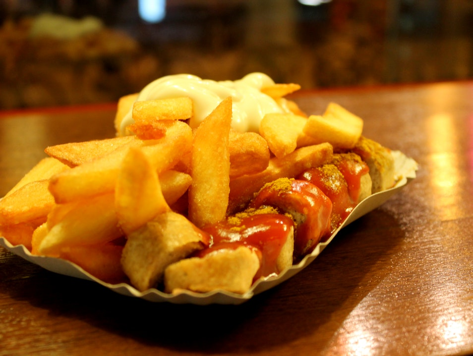 Trying Out Berlin's Famous Currywurst Berlin  Germany