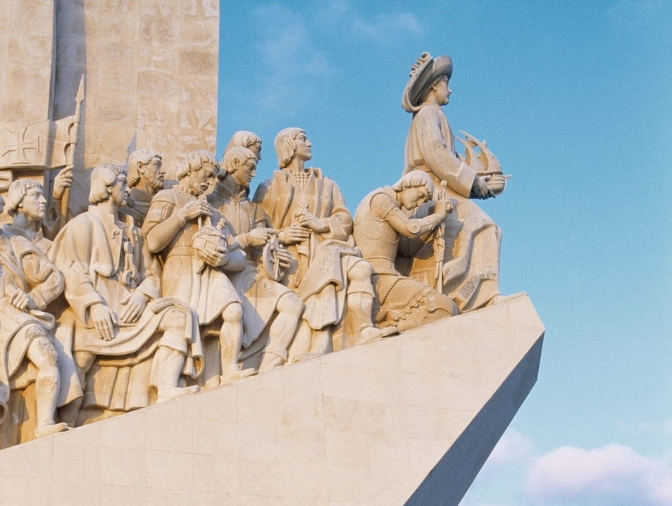 Lisbon's Monument to the Discoveries Lisboa  Portugal