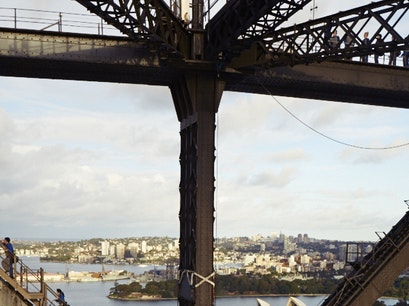 Sydney Harbour Bridge Dawes Point  Australia
