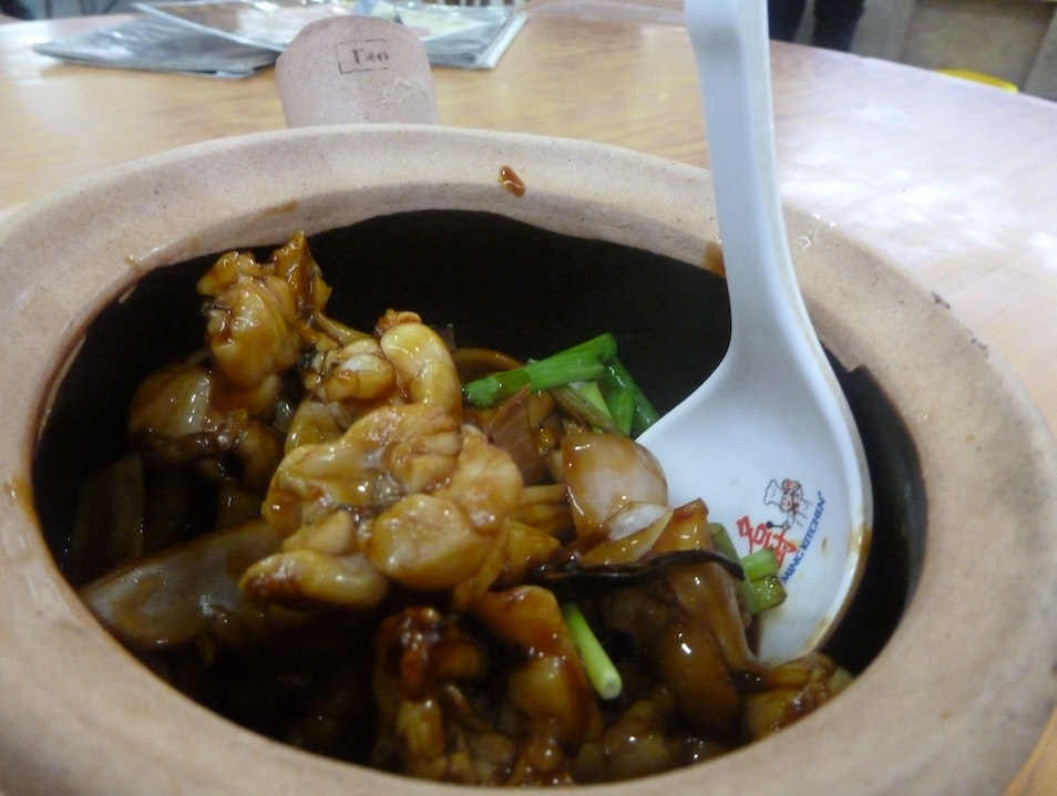 Frog Legs in a Clay Pot  Singapore  Singapore