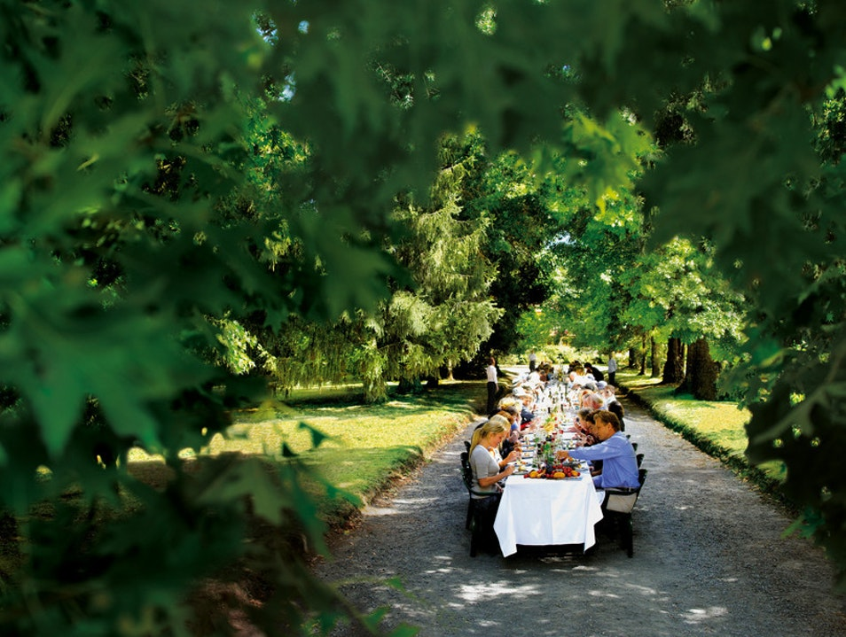 World's Longest Lunch at Marylands Country House Marysville  Australia