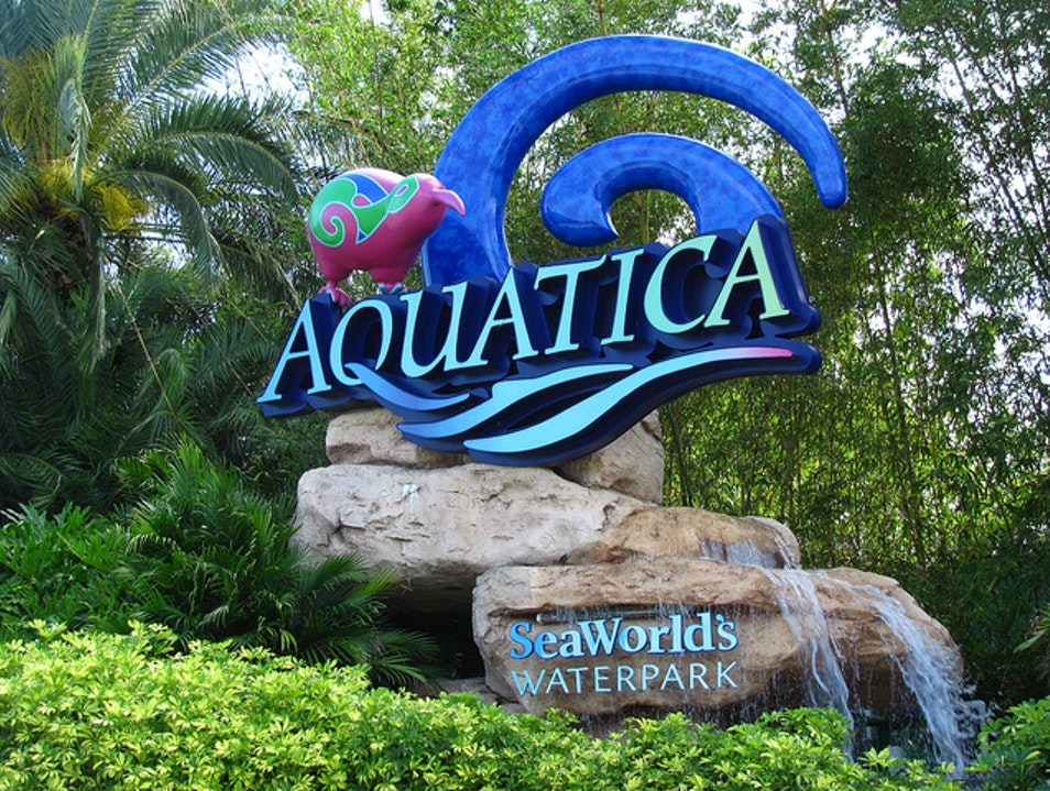 Slide into Fun at Aquatica Orlando Florida United States