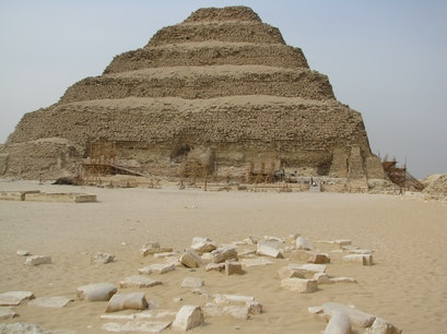 Pyramid of Djoser  Cairo  Egypt