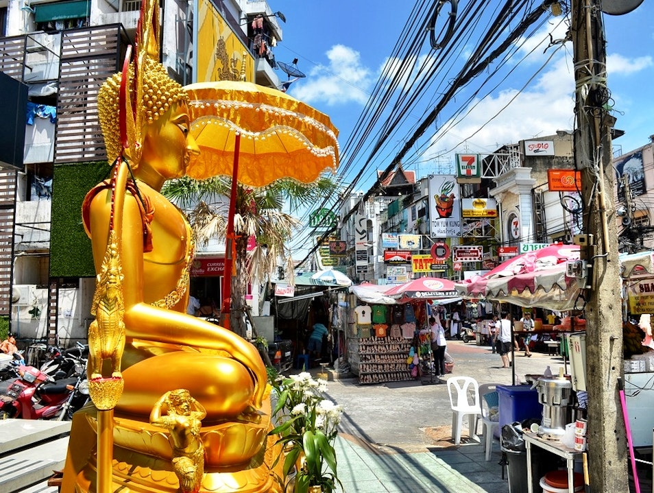 Cauldron of Humanity on Khao San Road Bangkok  Thailand