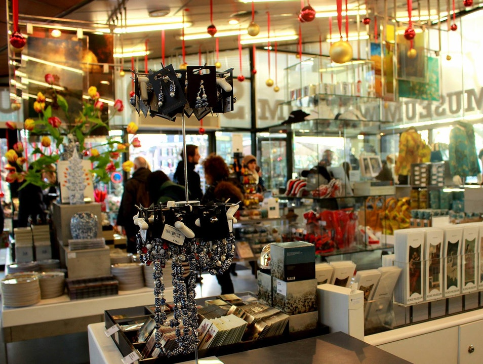 Artistic Retail on Museumplein: The Museum Shop