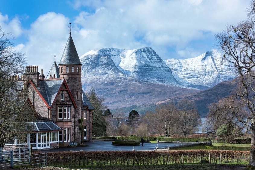 The Torridon Hotel, a boutique hotel resort set in the Highlands of Scotland