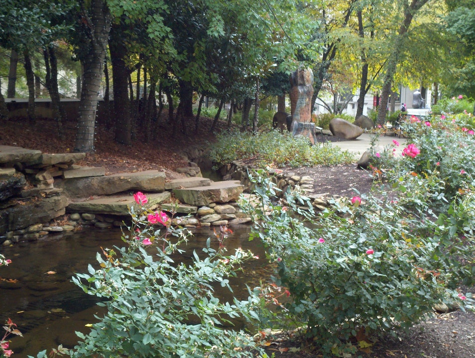 Krutch Park - A Knoxville Oasis! Knoxville Tennessee United States