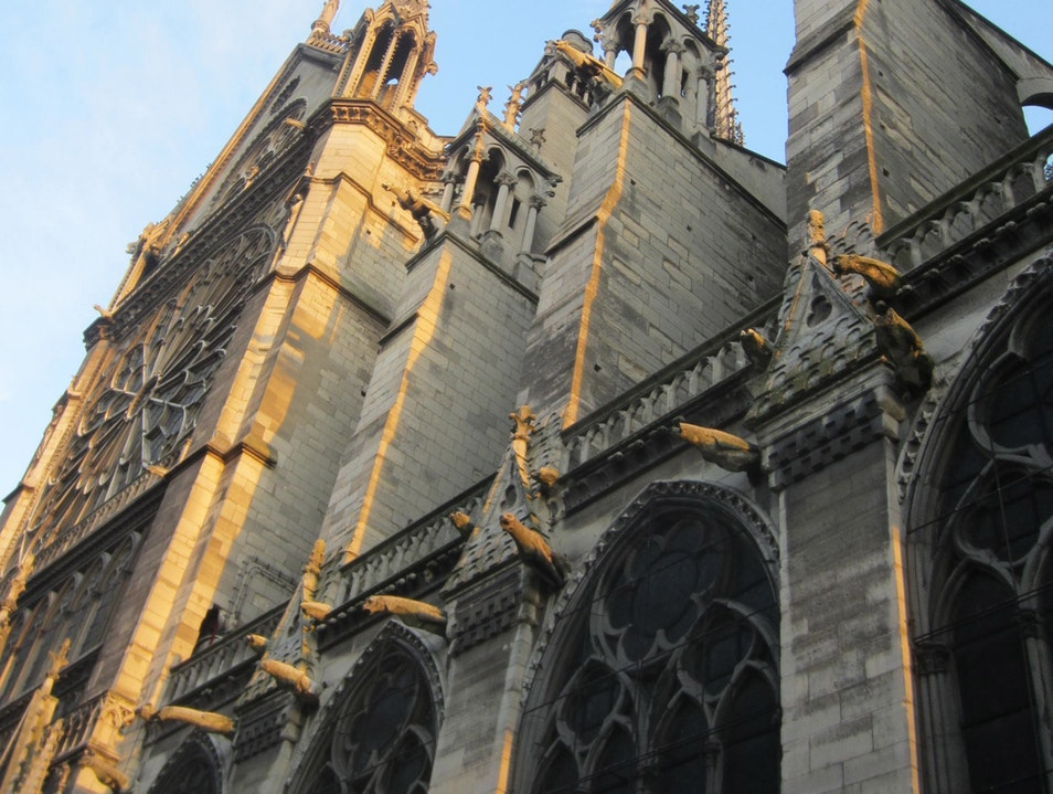 The best time of day to visit Notre Dame    France