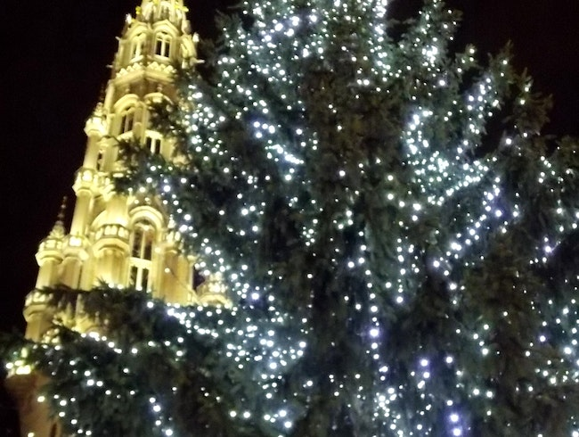 Christmas tradition returns to Brussels