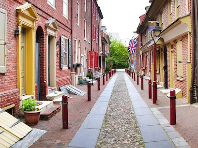 Elfreth's Alley Philadelphia Pennsylvania United States