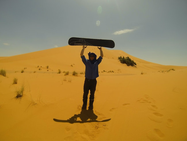 24 Hours in the Sahara