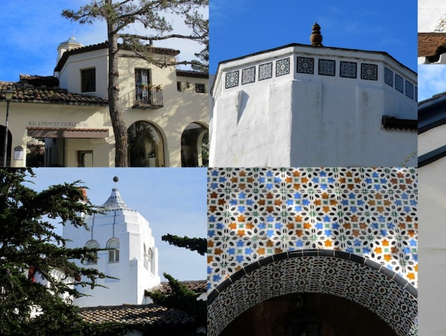 Spanish Details in Carmel-by-the-Sea, California