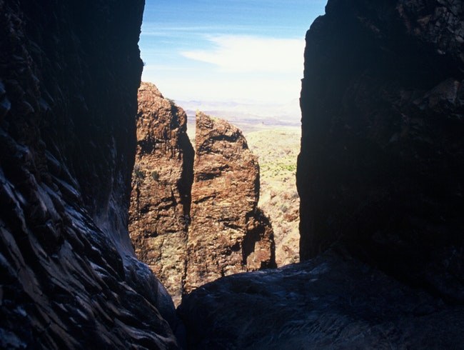 Look Out the Window at Big Bend National Park