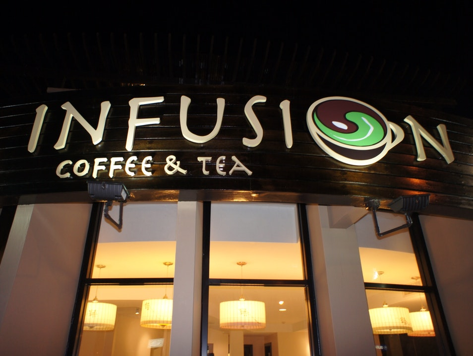 Island-Themed Refreshments at Infusion Coffee & Tea Tamuning  Guam