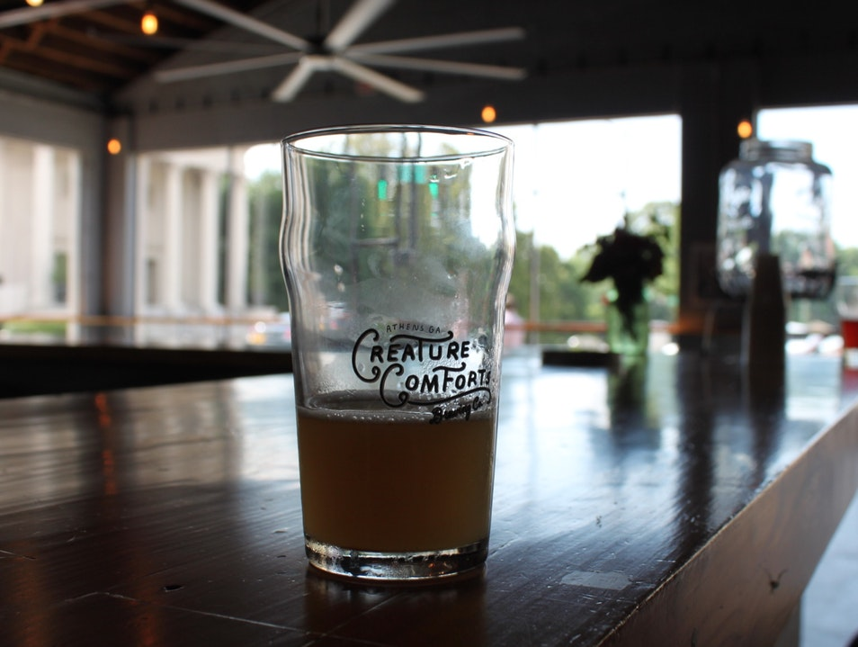 Crave Curiosity at Creature Comforts Brewery Athens Georgia United States