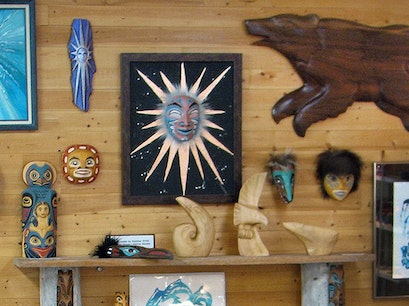 Sea Wolf/Whale Rider Galleries Haines Alaska United States