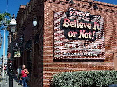 Ripley's Believe It or Not! Odditorium Key West Florida United States
