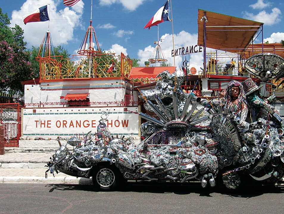 The Orange Show Monument Houston Texas United States