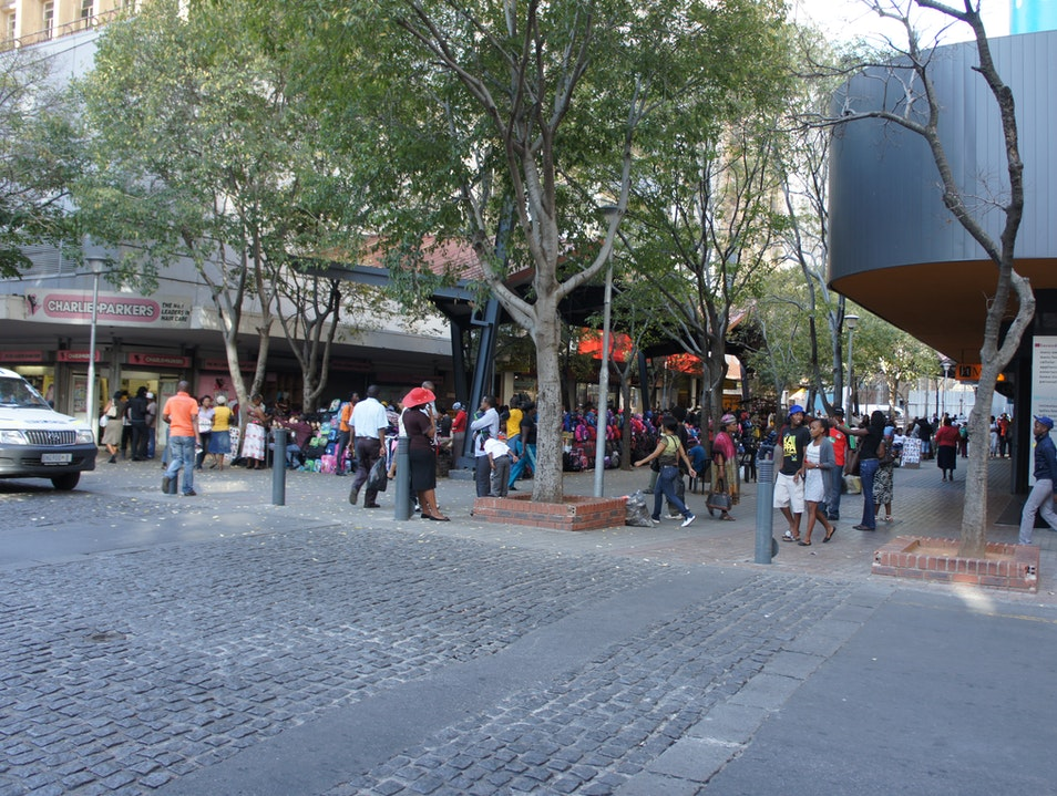 Kerk Street shopping Johannesburg  South Africa