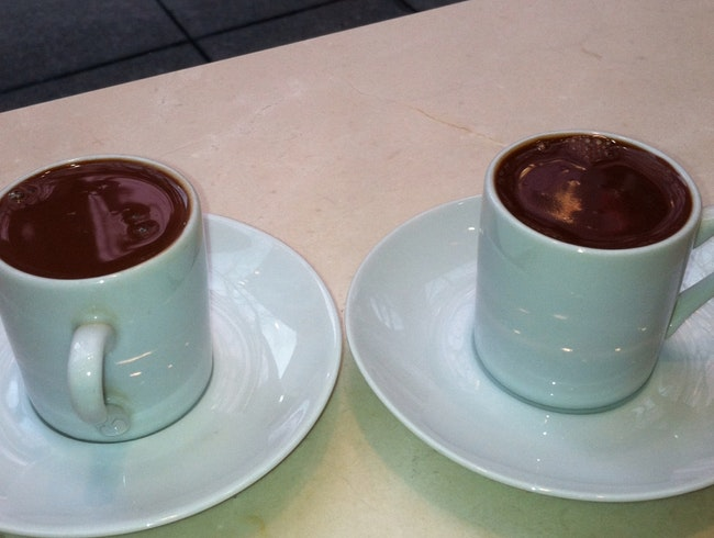 Spicy Chocolate Shots
