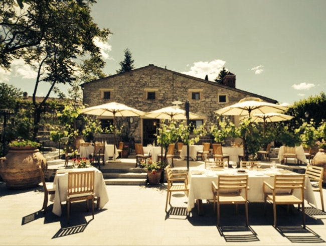 Lunch in Tuscany-Hotel Borgo San Felice