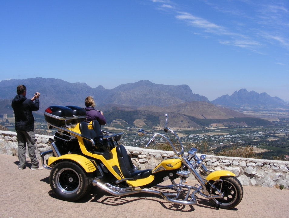 Full day Cape Winelands trike tour. Cape Town  South Africa