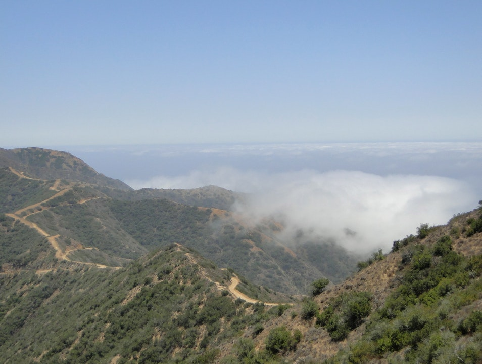 Hike into the Clouds on Catalina Island Los Angeles California United States