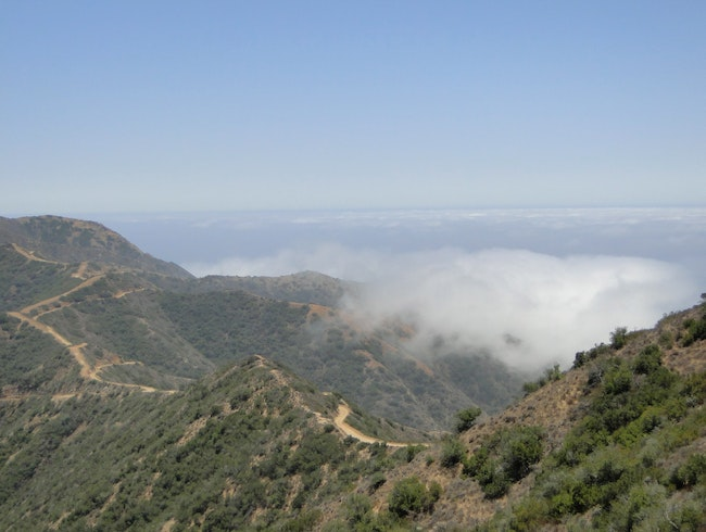 Hike into the Clouds on Catalina Island
