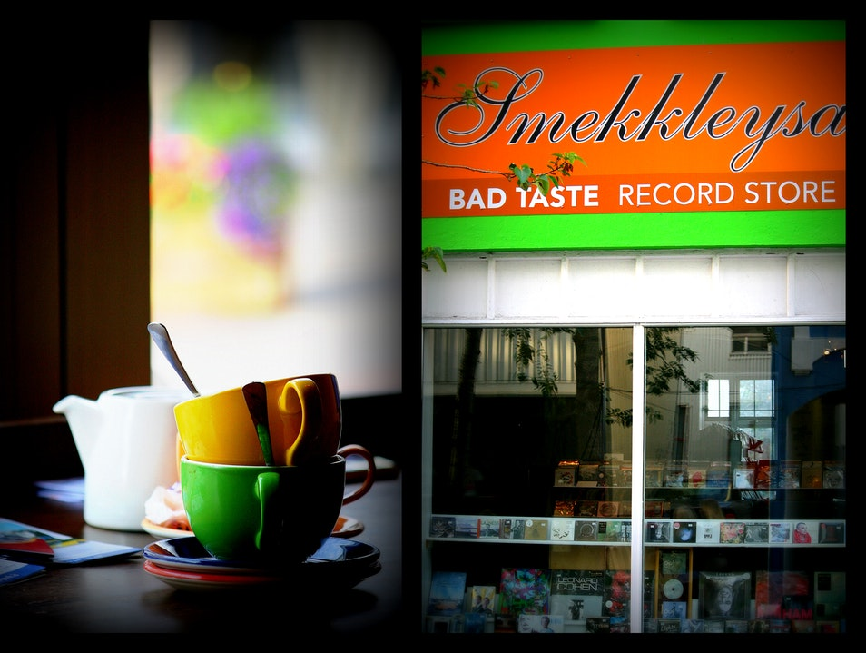 A city fueled by caffeine and music Reykjavik  Iceland