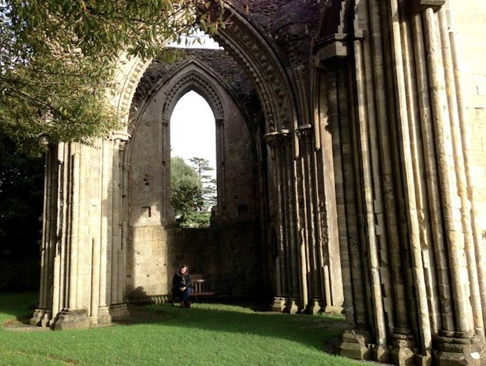 Stroll among the ruins of  an early Christian Sanctuary