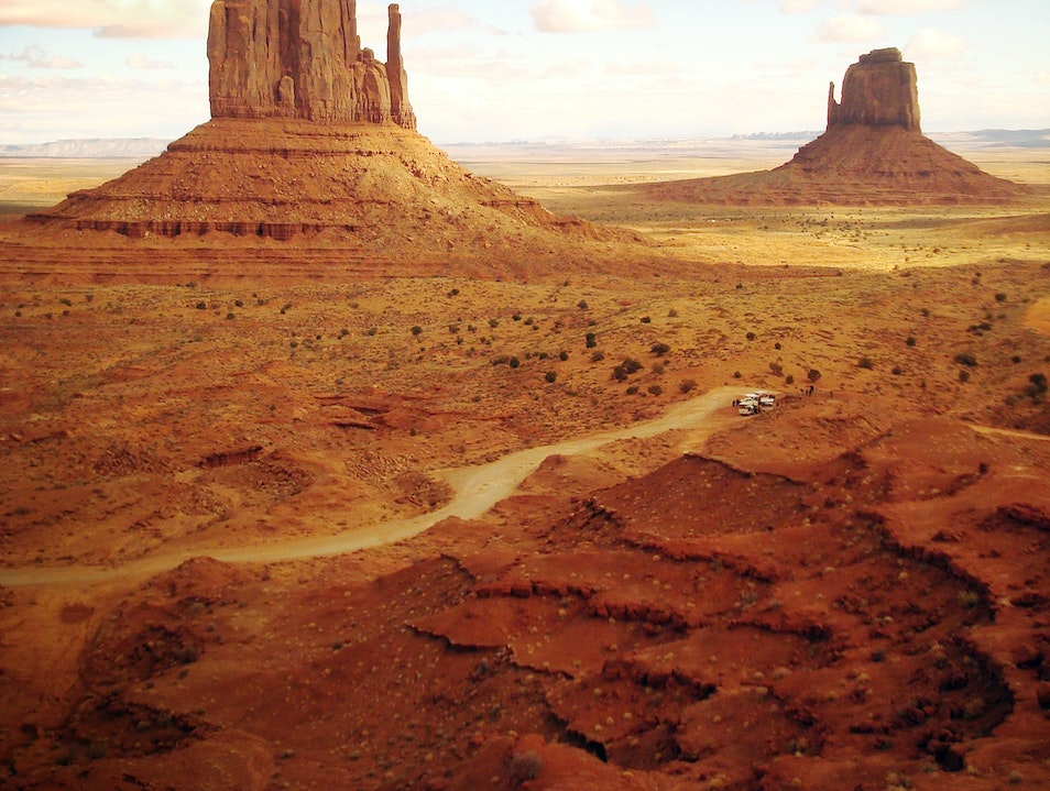 Monument Valley Oljato Monument Valley United States Utah Afar