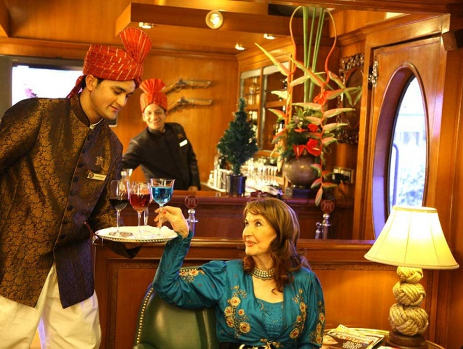 How to Live Like Maharaja on India's Luxury Train New Delhi  India