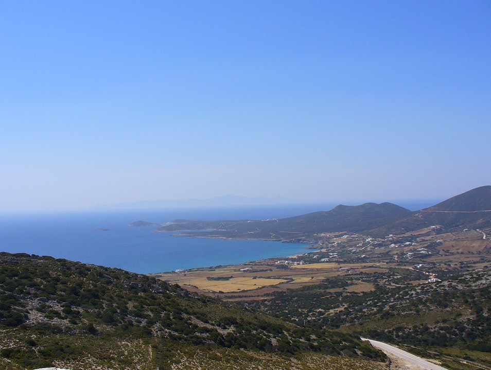 A smaller less visited island in Greece