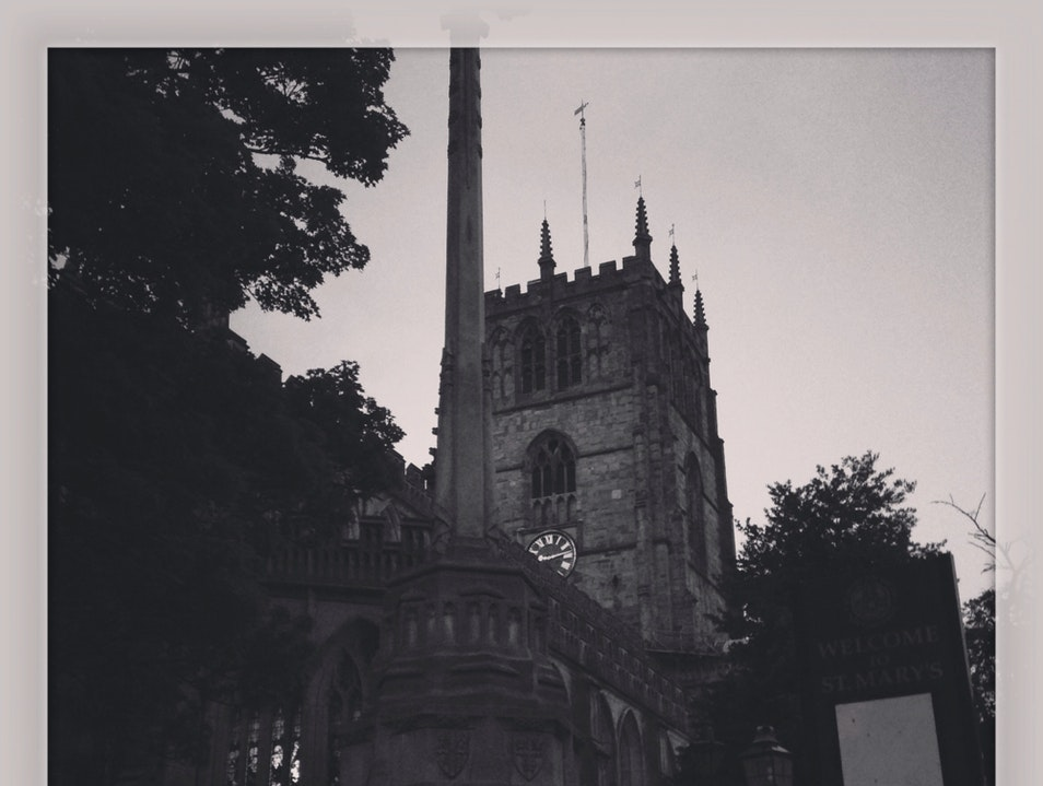 St Mary's In Evening Light