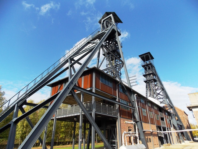 Old coal mines in Belgium
