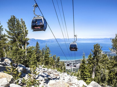 Heavenly Gondola Lake Tahoe California United States