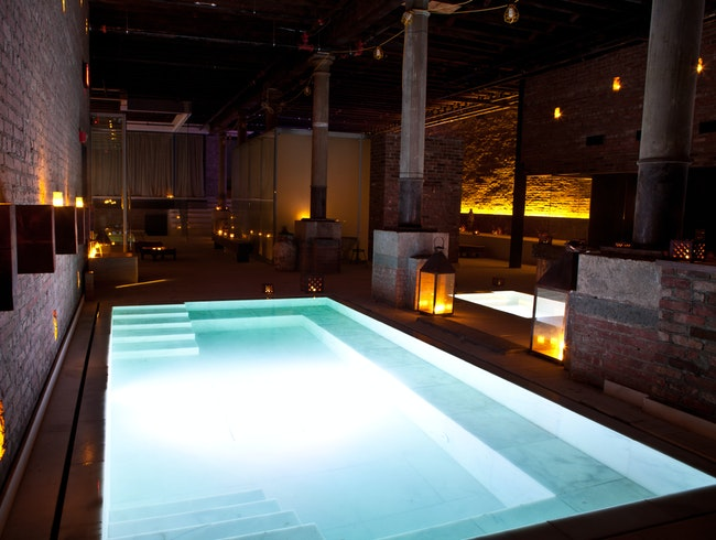 Underground Roman Baths in NYC