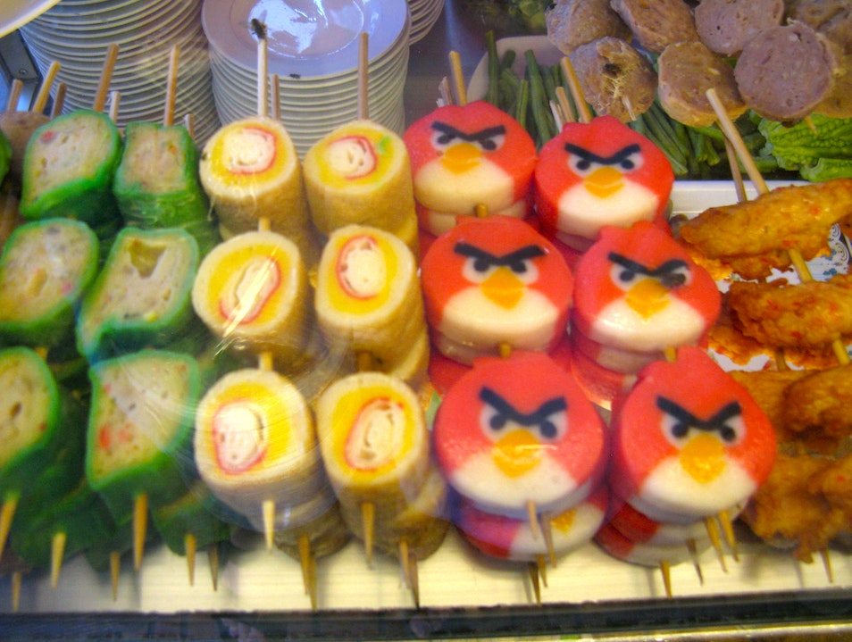Angry Birds, they're everywhere! Kampot  Cambodia