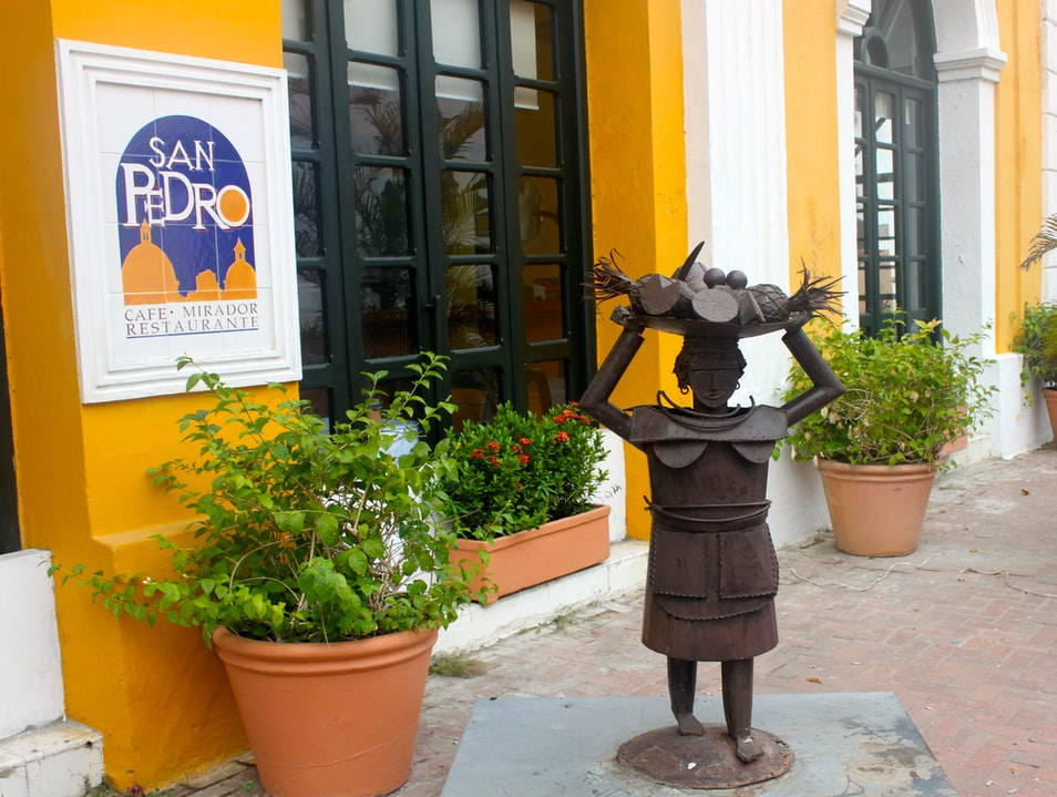 Mimosas, Even on Election Day Cartagena  Colombia