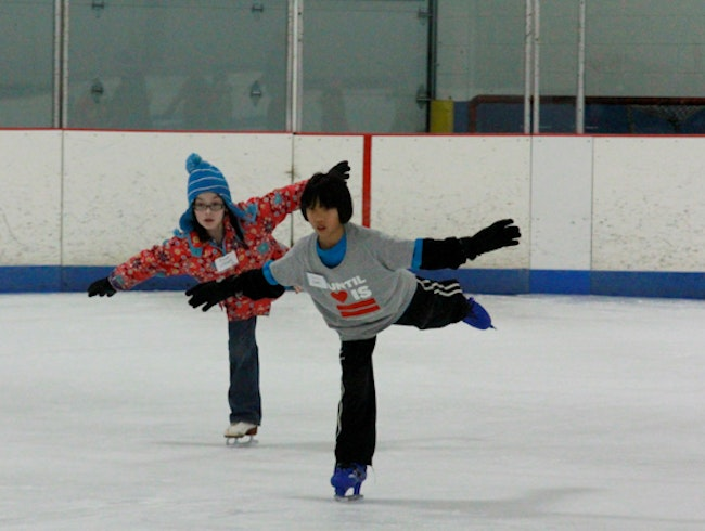 Hit the Rink at Oakton Ice Arena