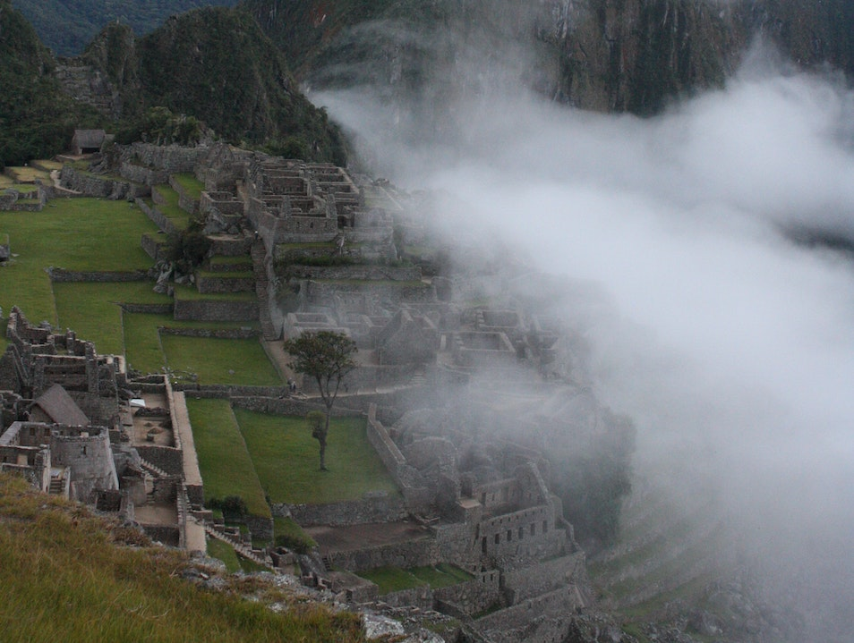 As the Sun Rises Santuario Historico Machu Picchu  Peru