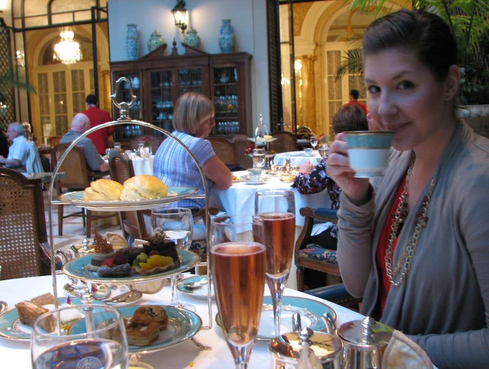 A Cup of Tea at the Alvear Palace Buenos Aires  Argentina