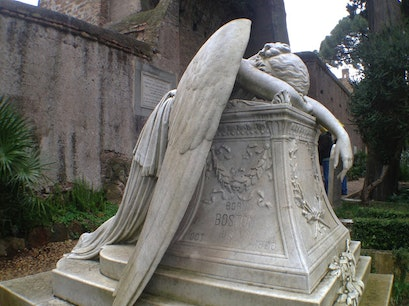 The Protestant Cemetery of Rome Rome  Italy