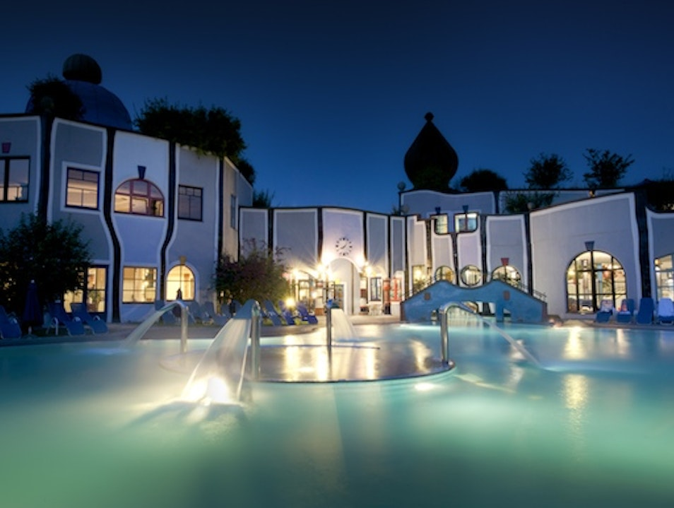 Hot Springs Lodgings: Rogner Bad Blumau in Styria, Austria Bad Blumau  Austria