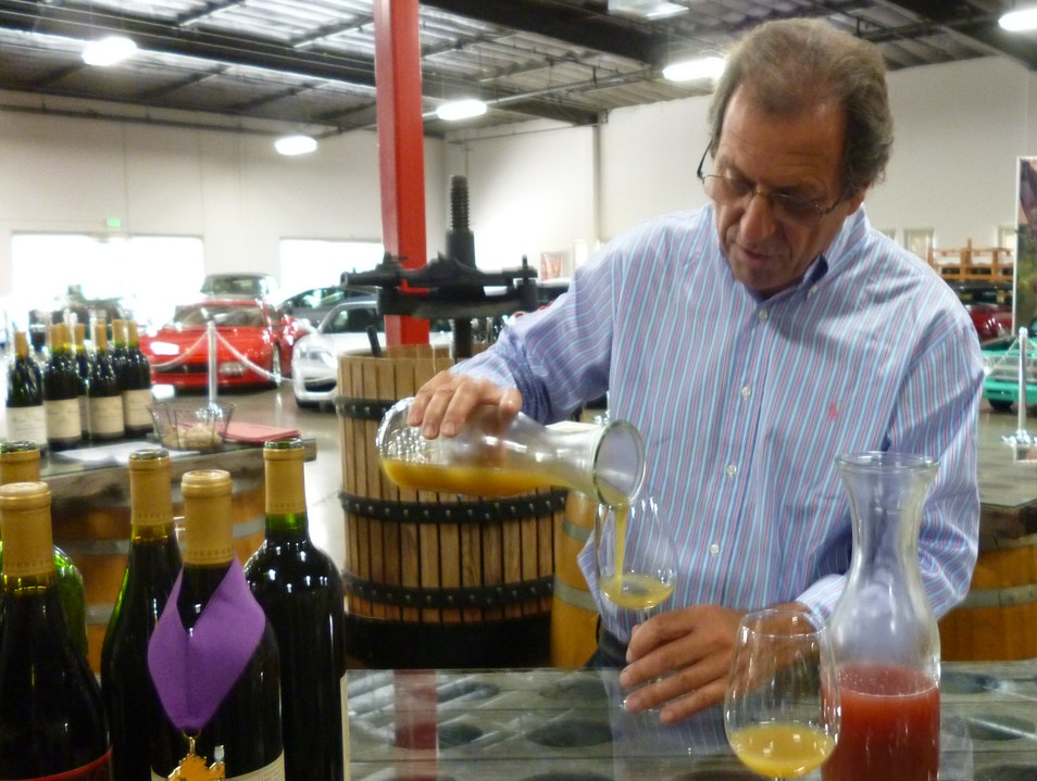 California Classic: Store Collectable Cars and Vino Here