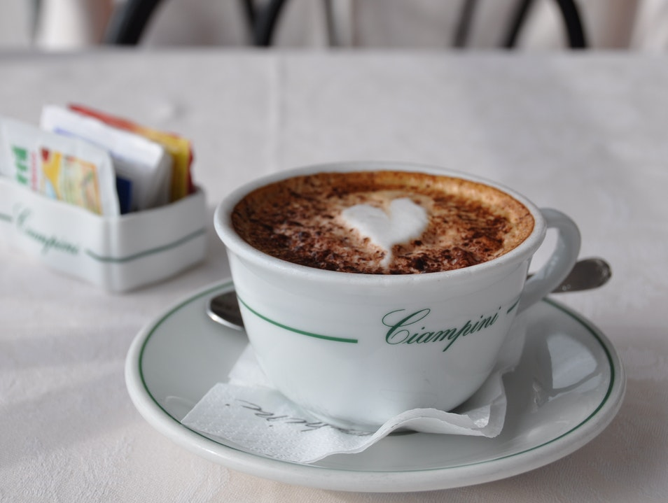 A Cappuccino with a View