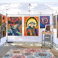 First Saturday Arts Market Houston Texas United States