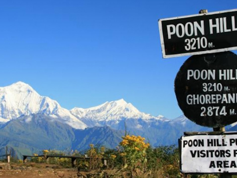 Trekking in Ghorepan Poon hill trek